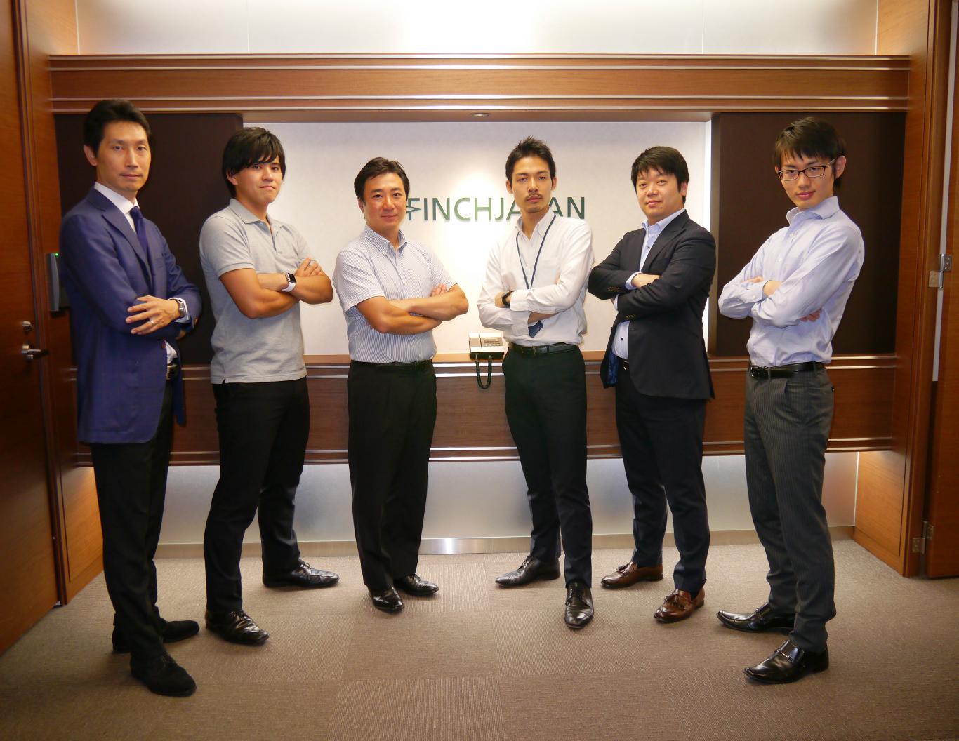 多様なバックボーンから成る事業開発チーム