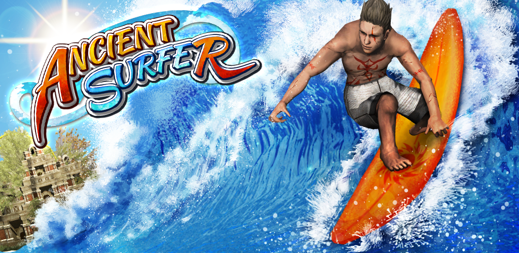 Google PlayのTVCMに起用された『Ancient Surfer』